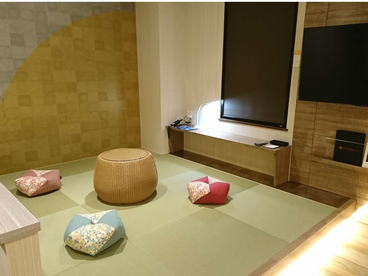 ◆最上階和洋室◆小さなお子様連れのお客様に安心な家族団欒和室スペース