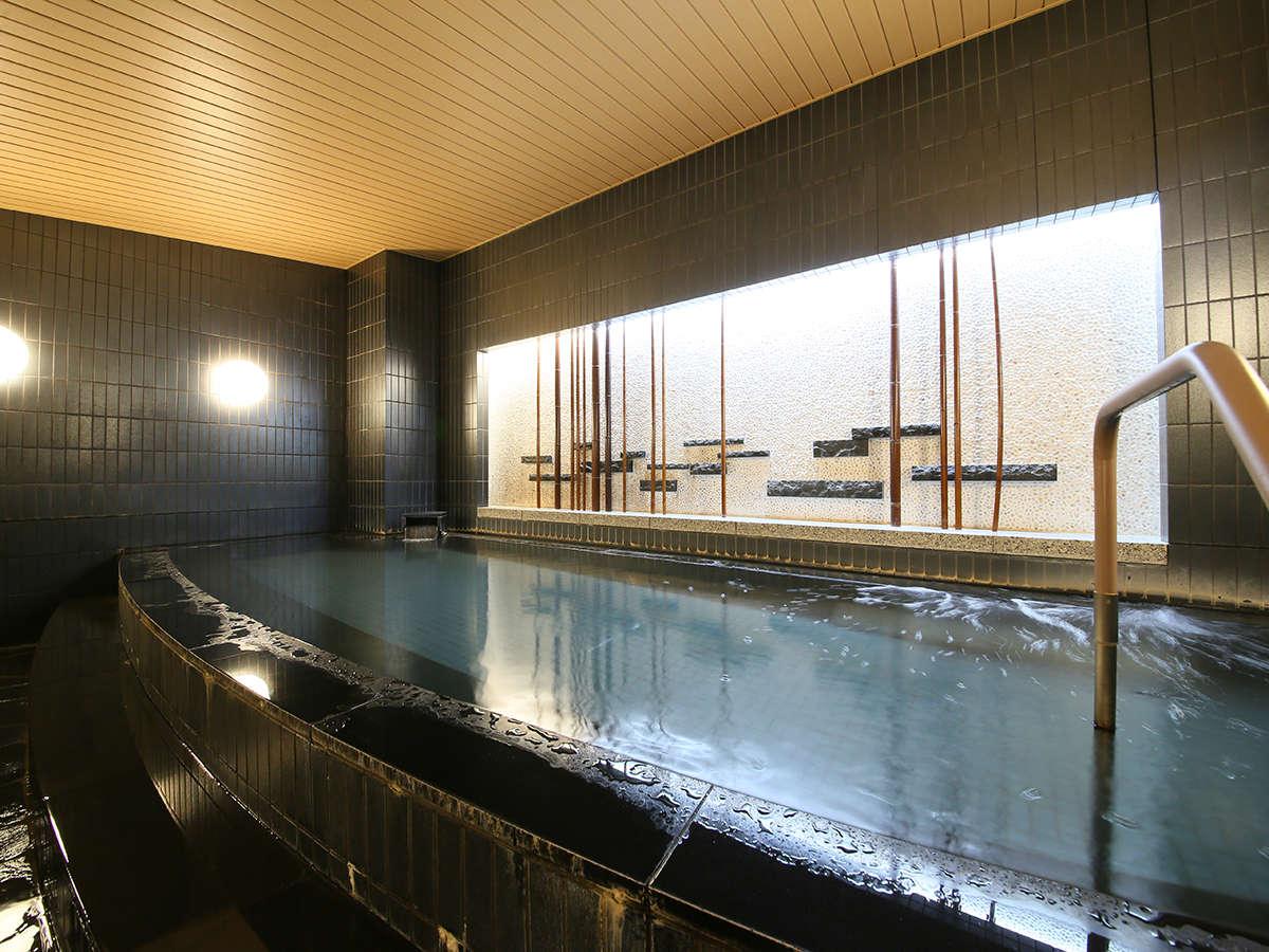 ◆大浴場◆ラヂウム人工温泉大浴場でほっと一息♪入浴時間(15時~深夜1時 朝6時~10時)