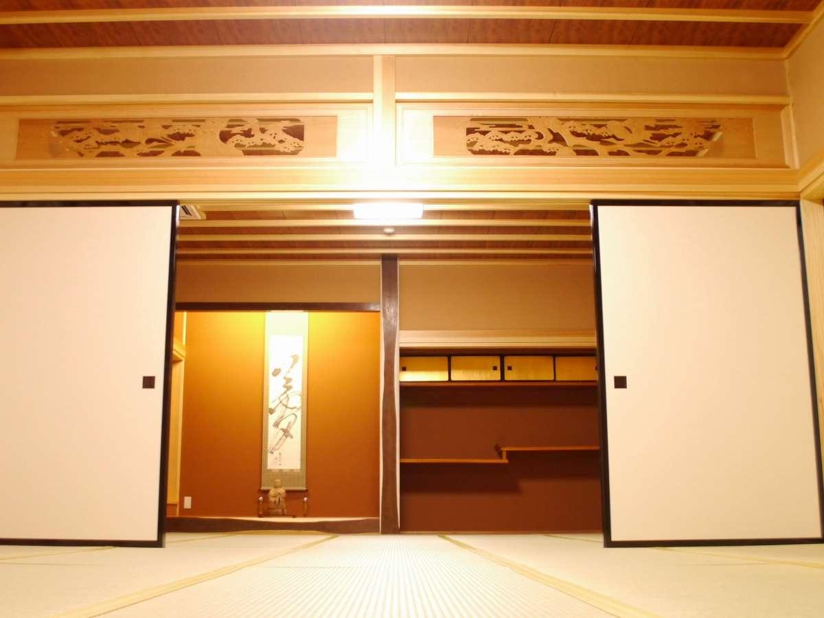 座敷わらしの部屋「槐の間(えんじゅ)」全ての始まりの部屋