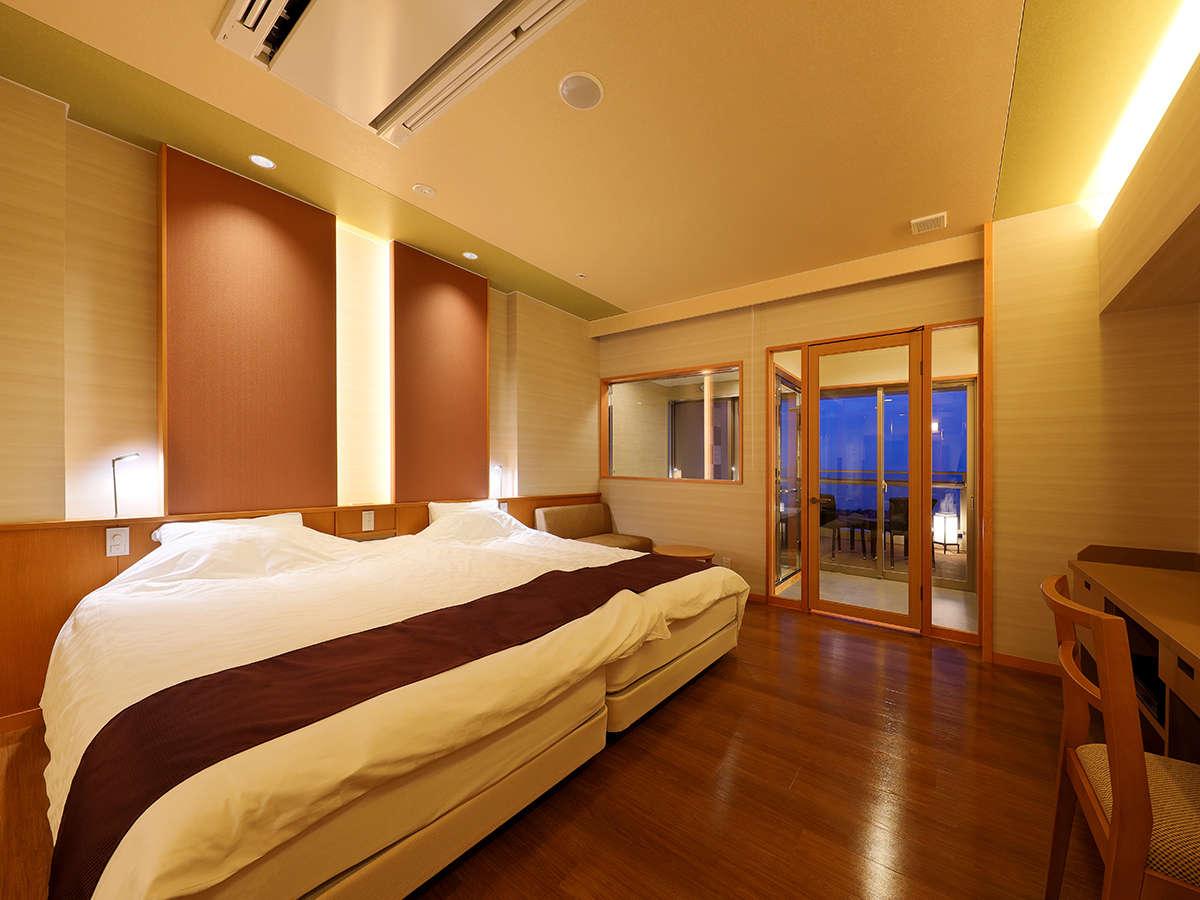 【全室和洋室】ベッドルームと畳敷きの和室が分離しているので、2世帯でも寝室を分けてお休み頂けます