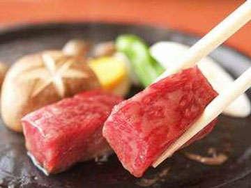 *【和牛ステーキ】当館の人気メニュー和牛ステーキをお愉しみください。
