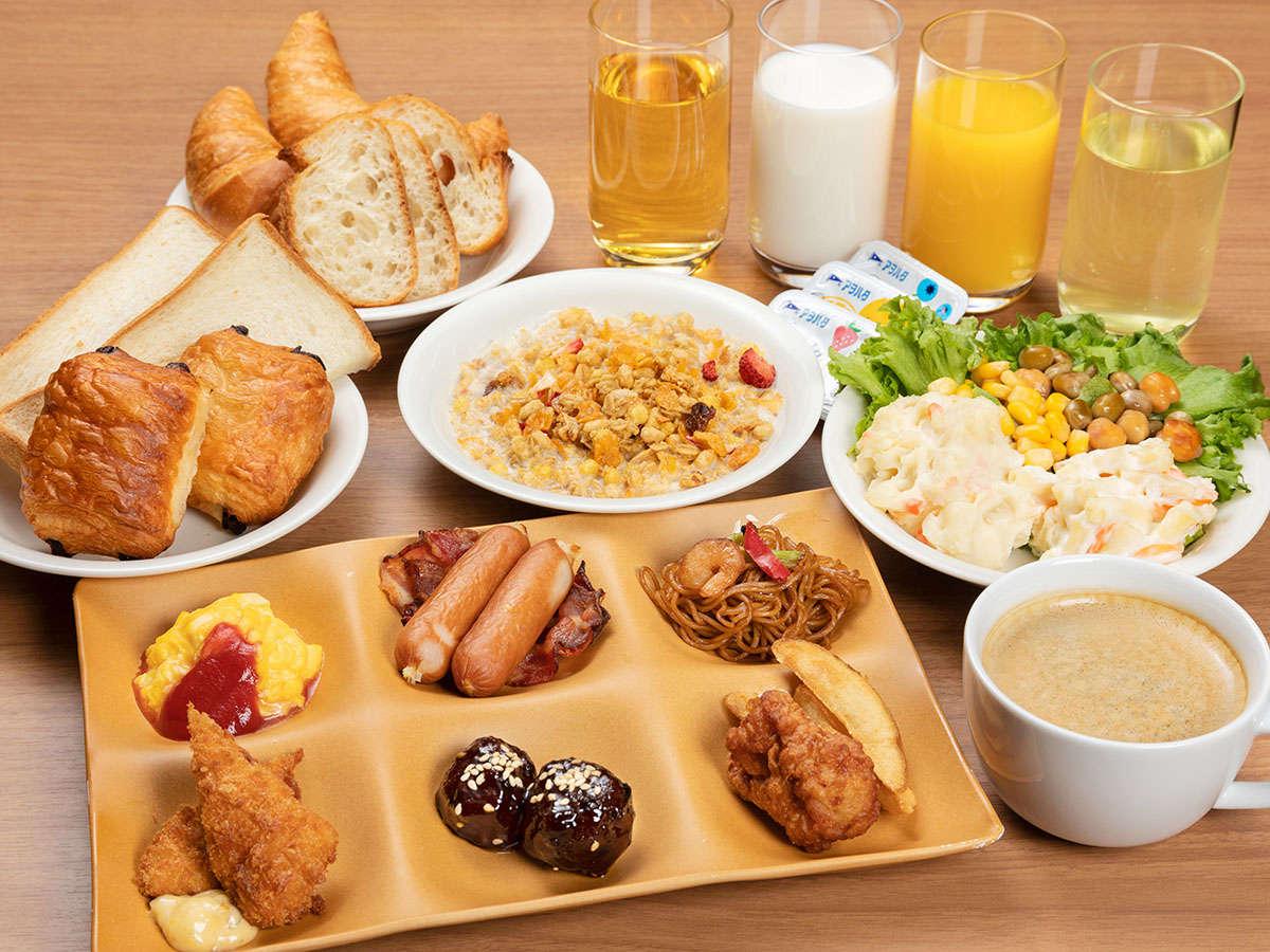 朝食(盛り付け 洋食)