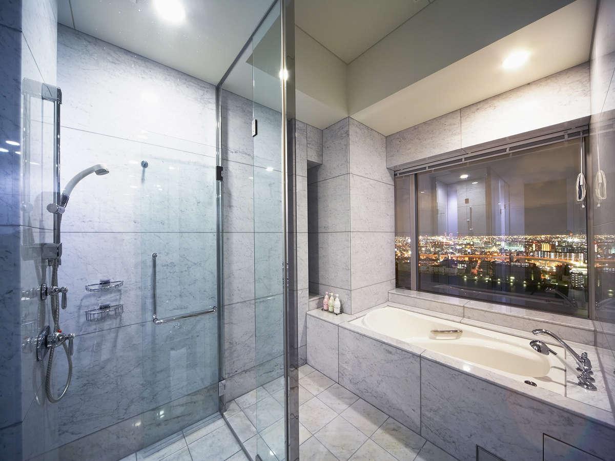 ホテル京阪ユニバーサル・タワー ビューバスルーム