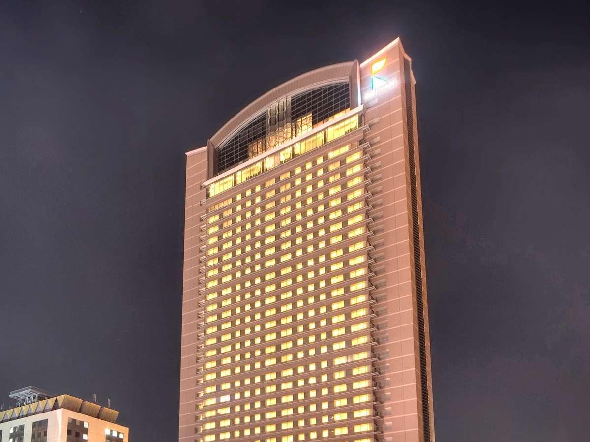 エリアNo.1の高層タワーから見る夜景は格別です。