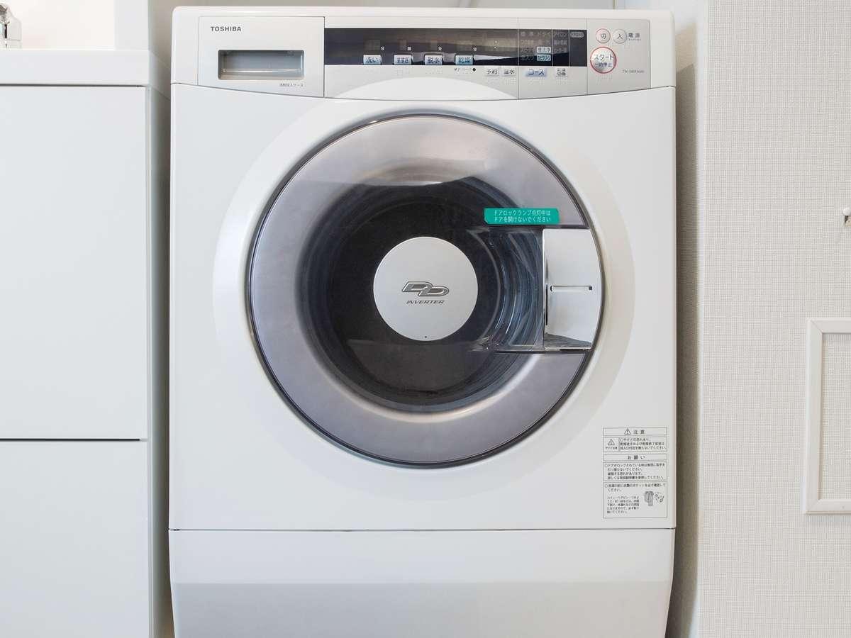 全室に洗濯乾燥機付きです♪