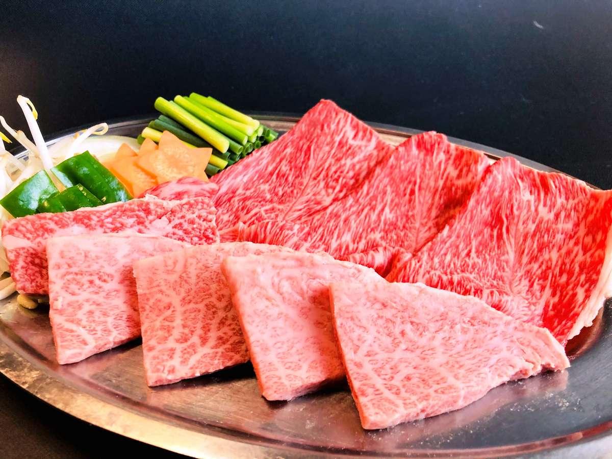 飛騨牛をたくさん食べたい!方へのオススメプランです。飛騨牛肩ロース&ミニステーキをどうぞ♪