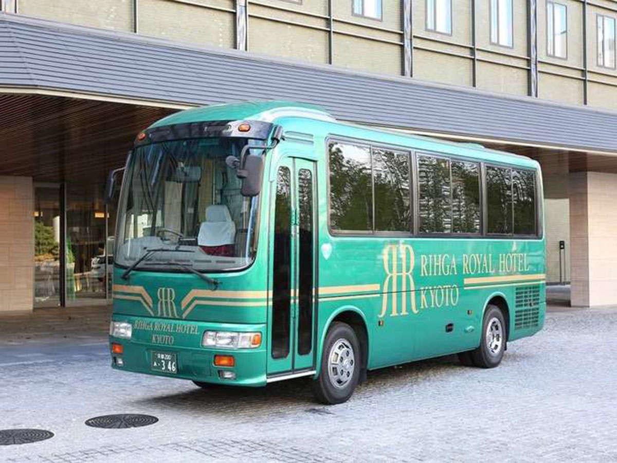 【送迎バス】京都駅八条口⇔ホテル間を15分間隔で運行 ※7:30-21:00