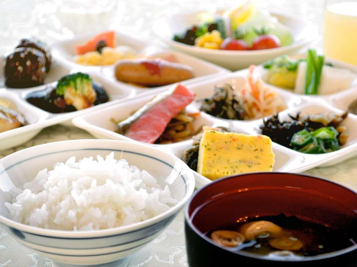 【朝食バイキング】和食で揃えるのもお好み