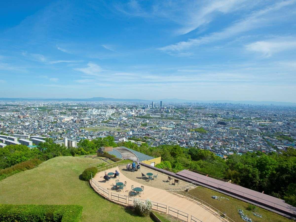 大阪市街を一望できる絶景♪