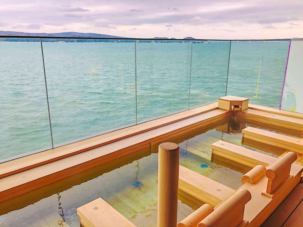 【大湯処】まるで海に浮かんでいるかのような贅沢なひと時を♪(イメージ)