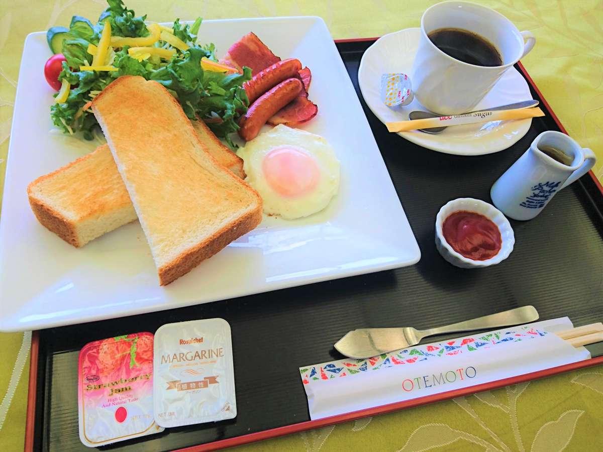 朝食¥650(洋食)