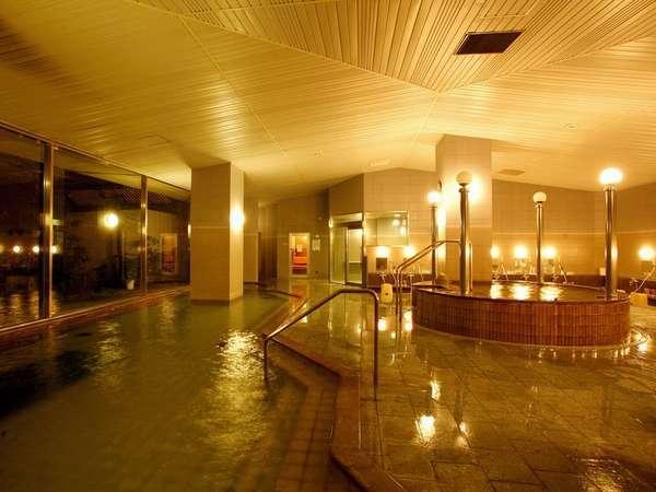 【大浴場】サウナ・水風呂・泡風呂で、日頃の疲れを癒してください