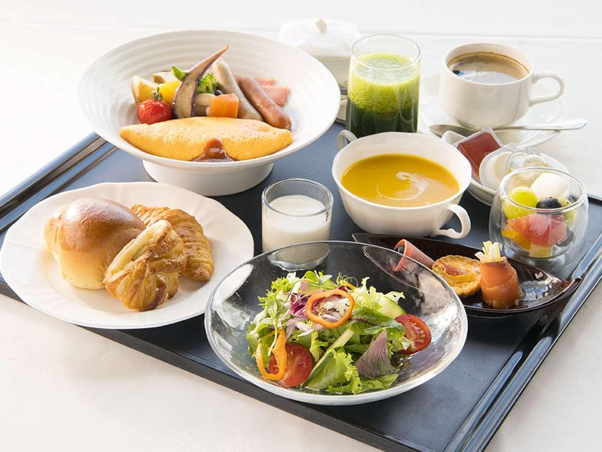 【ご朝食】『洋食セット』当面の間、朝食はセットメニューにてご提供いたします。※写真はイメージです