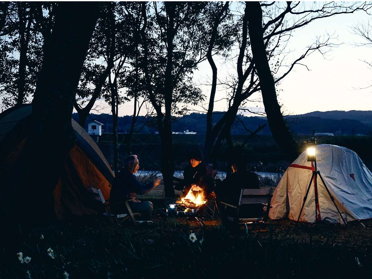 キャンプ場(準備中)も併設。宿泊者は敷地内を自由に散策頂けます。