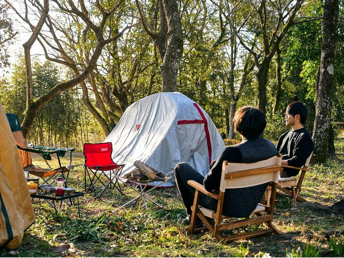 キャンプ場(準備中)利用も可能。