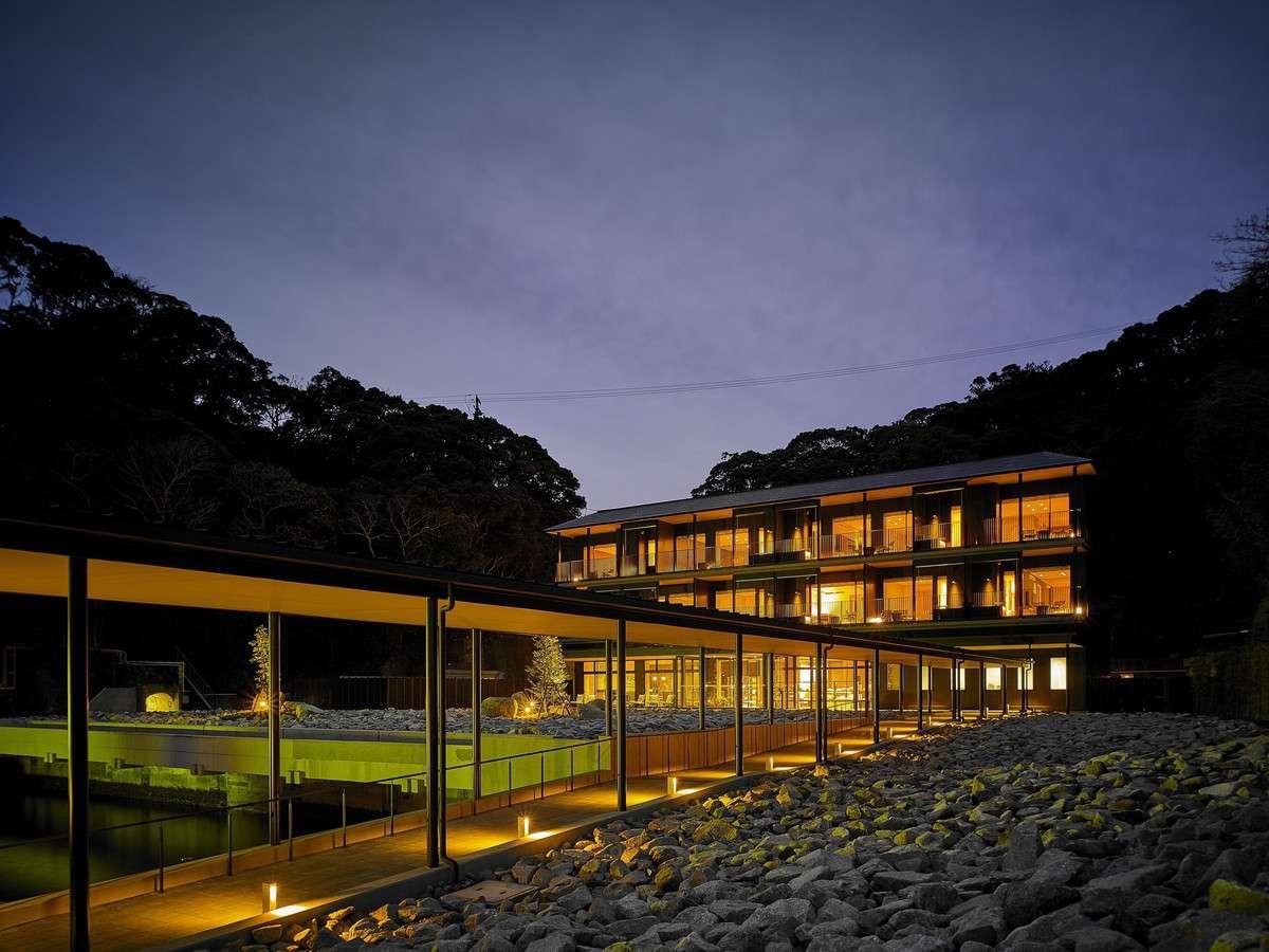 外観/紺碧の海に囲まれた、碧き島の宿 熊野別邸 中の島。