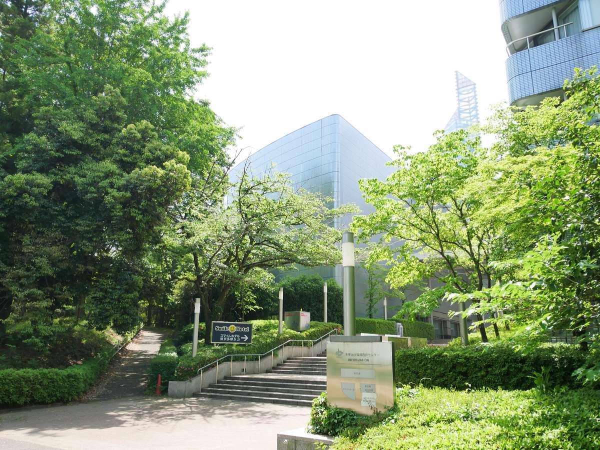 スマイルホテル東京多摩永山多摩永山情報教育センター併設