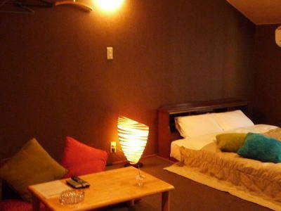 2階のベッドルームは広々♪一例