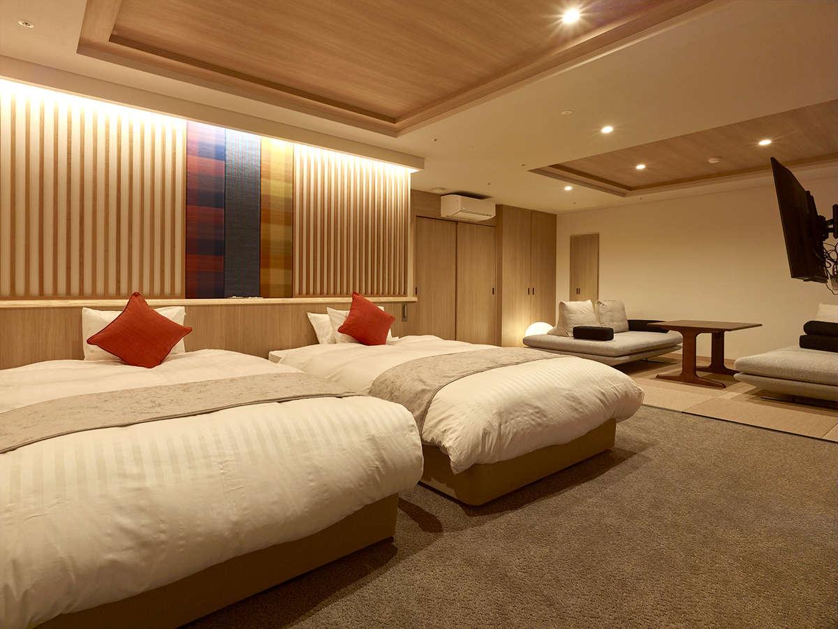 ★新フロア【10Fプレミアムフロア溪-Kei-】A type 広々としたお部屋で上質な空間をお楽しみください。