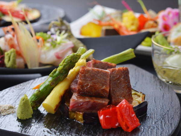 料理イメージ写真 ~焼きたてのおいしいお肉♪~