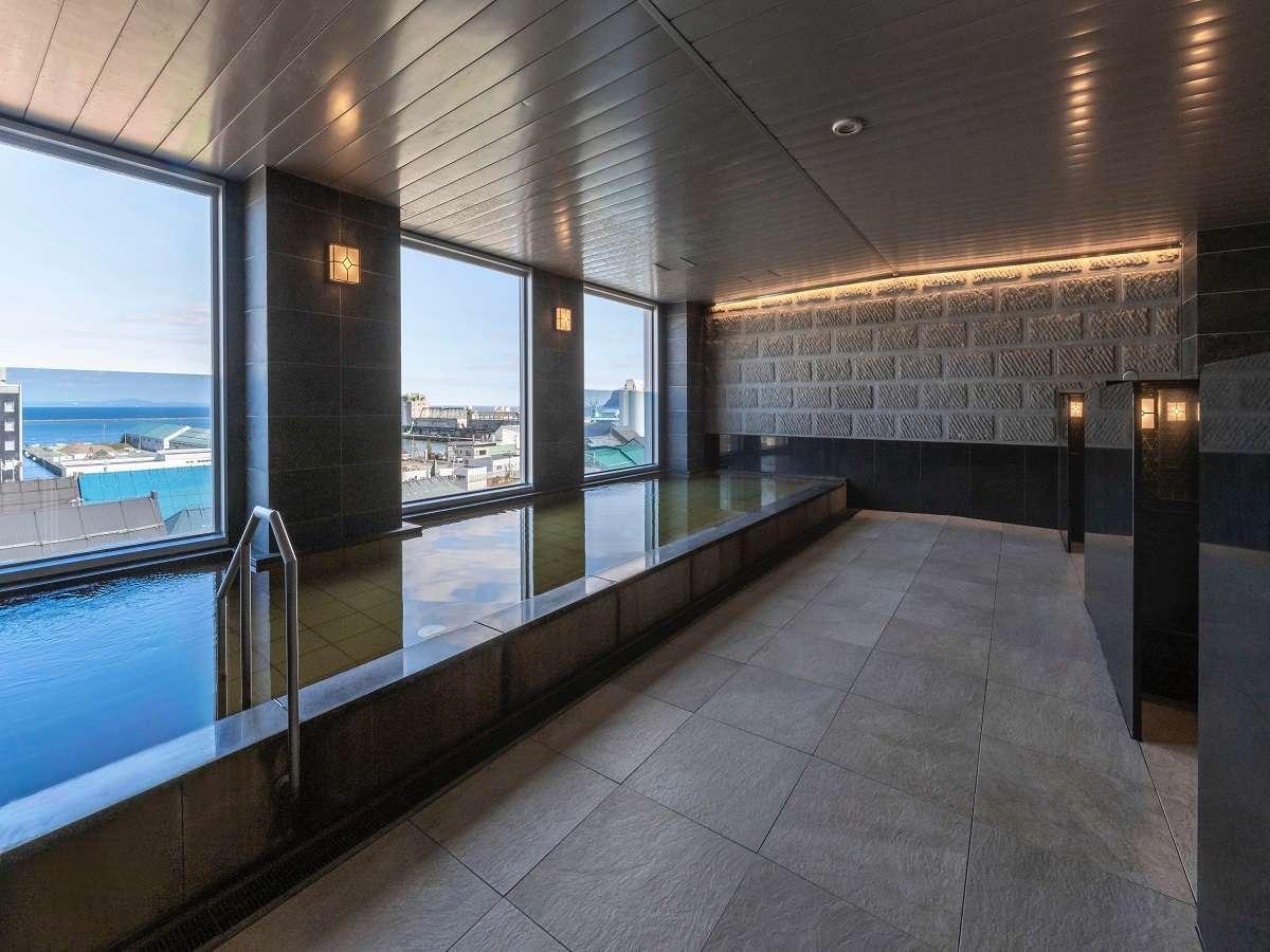 【天然温泉小樽運河の湯】入浴時間 15:00~23:00 / 6:00~10:00