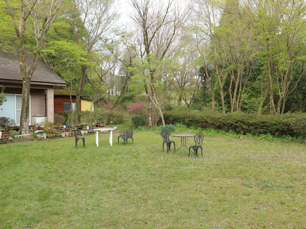 *【ガーデン】菊池高原の爽やかな風を感じながらのんびり♪