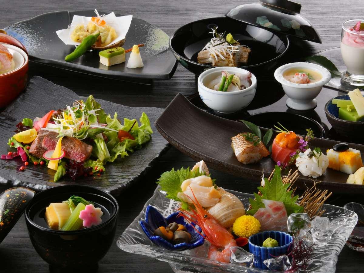 【旬越料理 妙高】季節の会席料理/例
