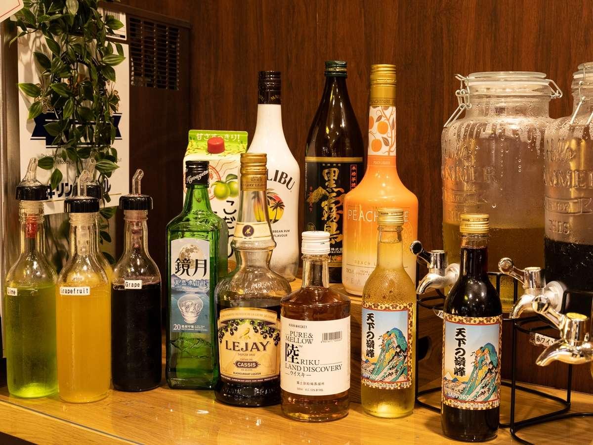 【オールインクルーシブ】生ビール、日本酒、ワインが飲み放題です(※利用時間にご注意ください)