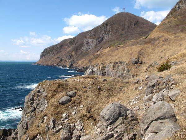 立待岬  津軽海峡をはさんで下北・津軽半島を彼方に望むビューポイント