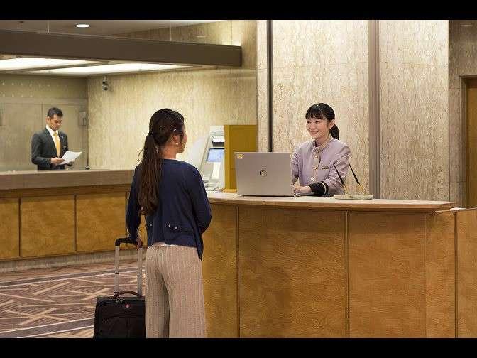 ホテル周辺のお店の情報など、お気軽にお尋ねください。