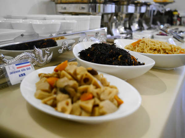 【和洋ブッフェ】お惣菜