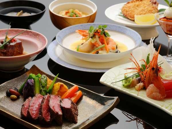 贅沢な食材をふんだんに使用した御料理をご堪能下さい(写真はイメージです)
