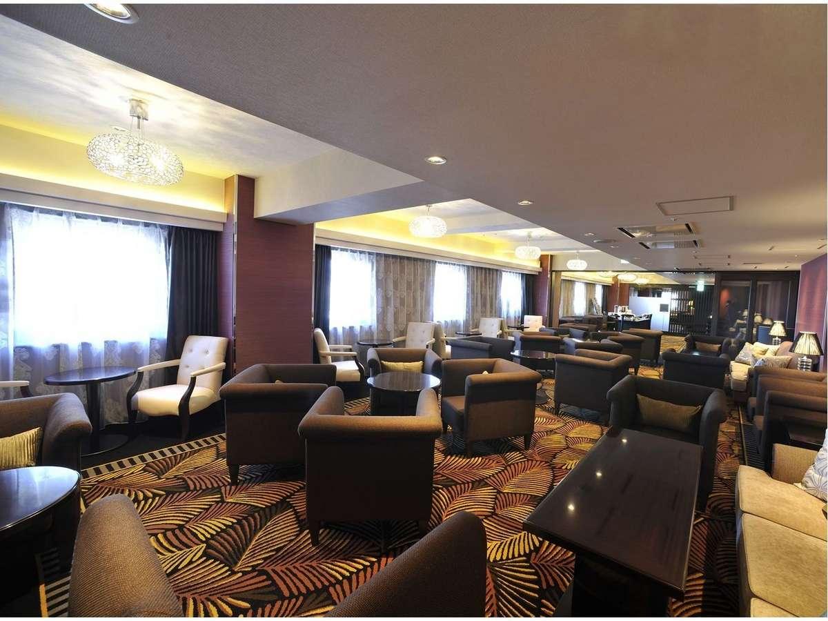 エグゼクティブフロア専用のラウンジ。贅沢な空間とサービスをお楽しみください。