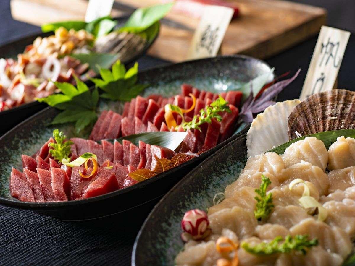 【夕食】お刺身イメージ