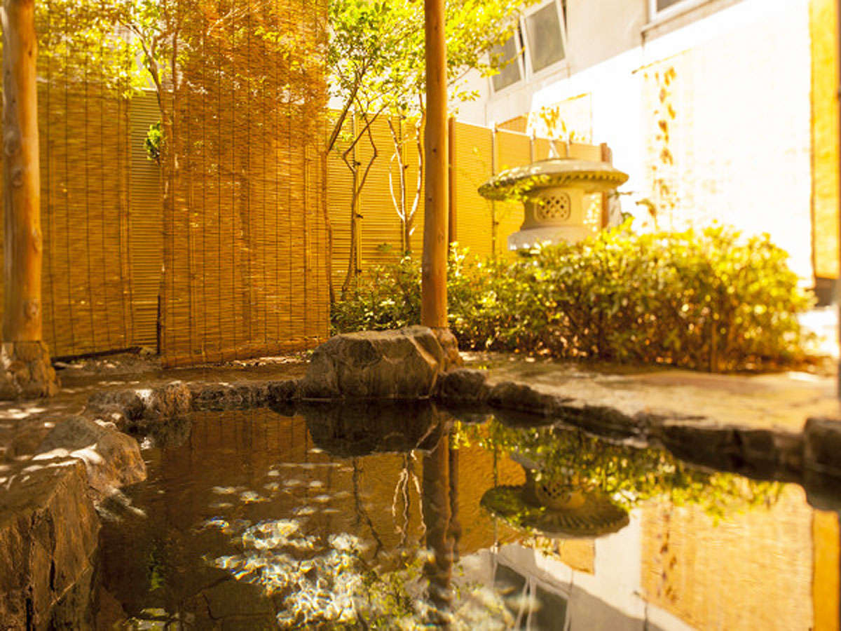 【露天風呂】源泉100%のお湯をご堪能下さい
