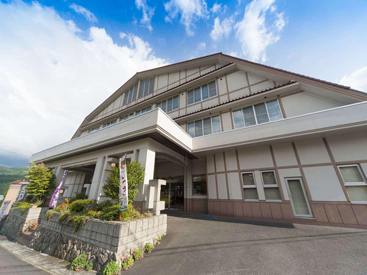 【外観】岡山県の最北に位置する上斎原。のどかな里山でのんびりお過ごし下さい