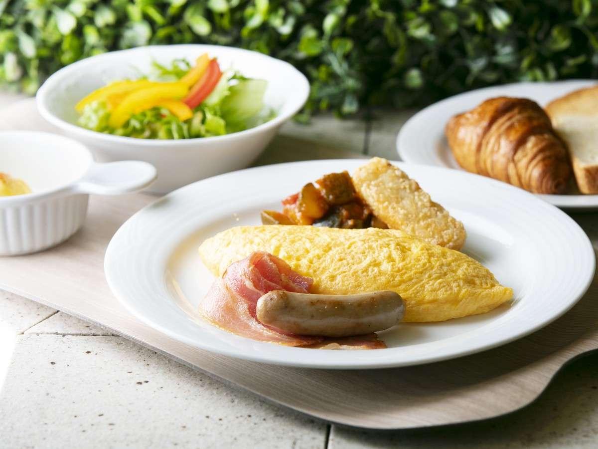 (朝食イメージ)朝の目覚めにふさわしい、ホテル自慢の朝食