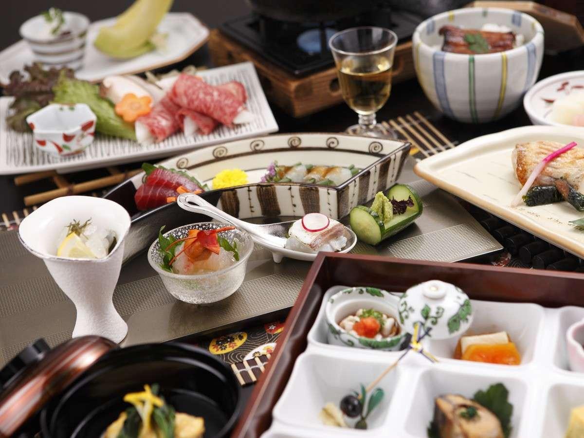 ■至高の会席「味百景 薫」お料理一例