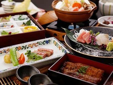 ■特選会席「味百景グルメ」8月お料理一例