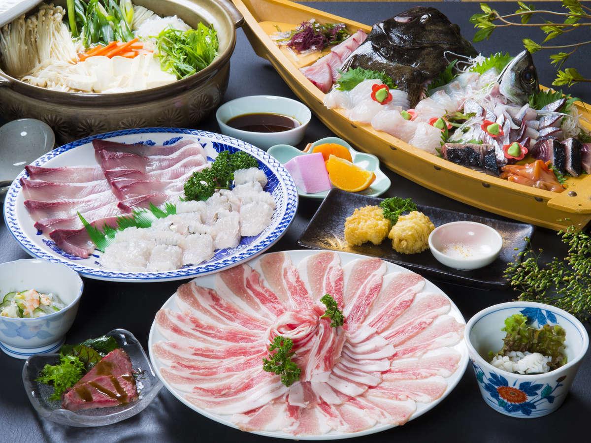 季節限定のしゃぶ鍋!海鮮しゃぶ鍋はなかなか食べれない逸品です!今だけの美味しさを楽しんでください♪
