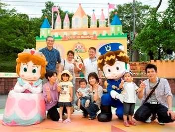 家族3世代で東条湖おもちゃ王国