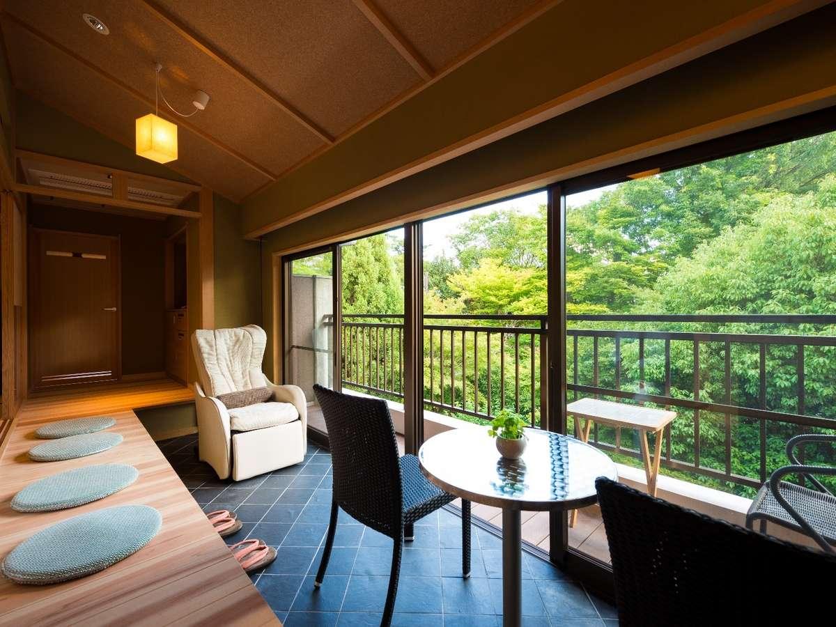 【禁煙/特別室】和洋室<和室12.5畳+ツイン>興福寺側