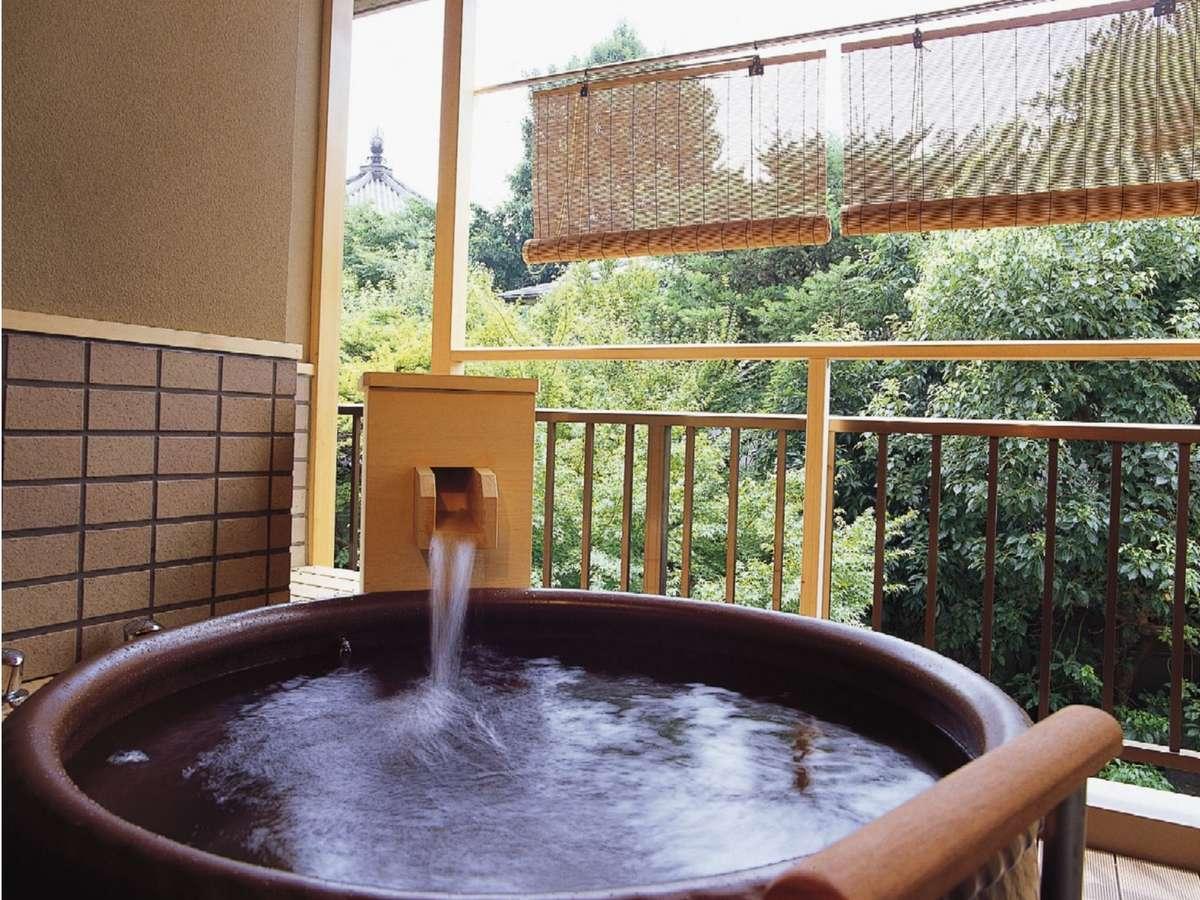 【露天風呂付】琉球畳にローベットの和風ツイン