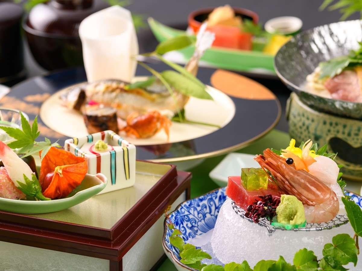 【ご夕食】奈良の地で育まれてきた四季折々の旬の食材を生かした会席料理