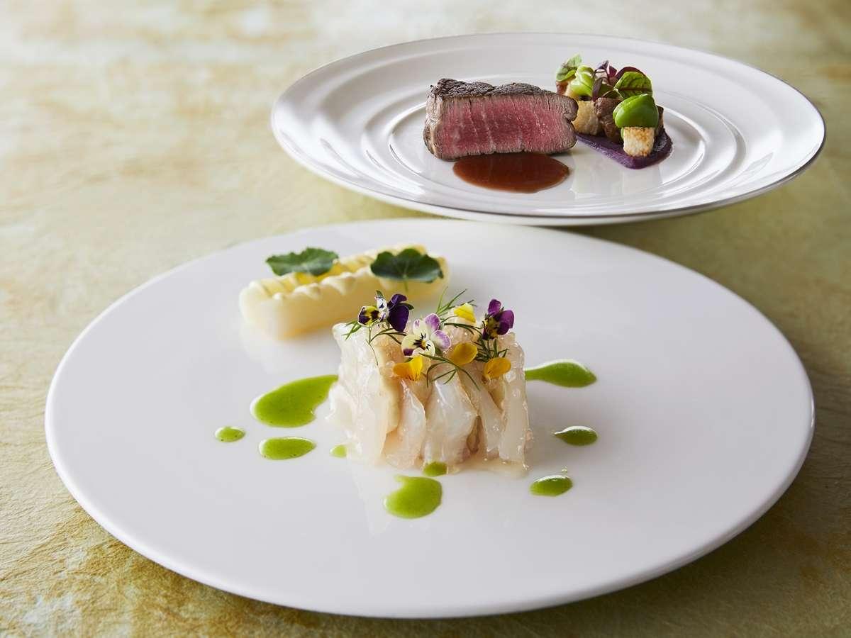フレンチレストラン-季節「春」のおすすめ料理イメージ。季節やフェア内容によって内容は異なります。