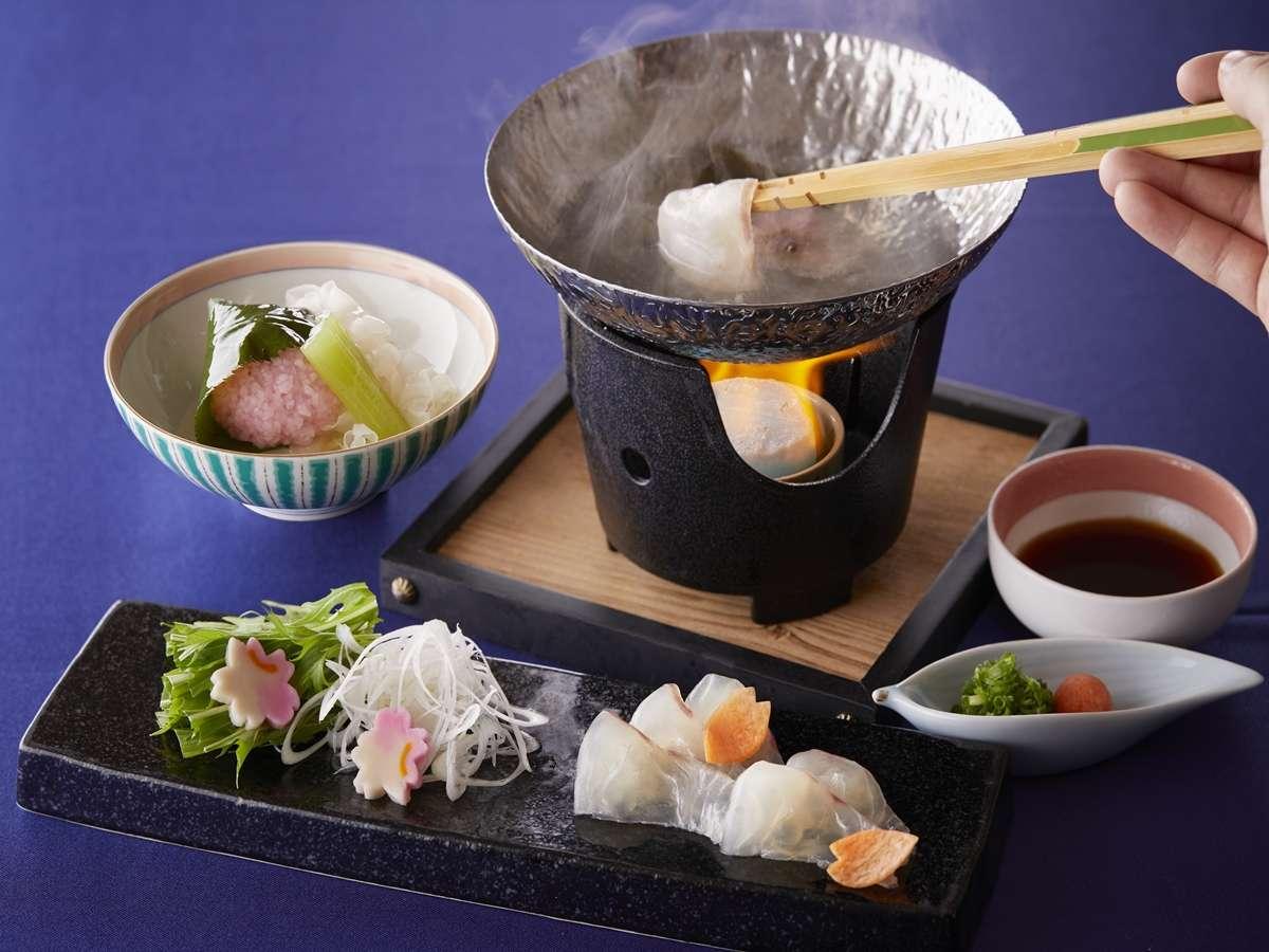 日本料理-季節「冬」のおすすめ料理イメージ。季節やフェア内容によって内容は異なります。