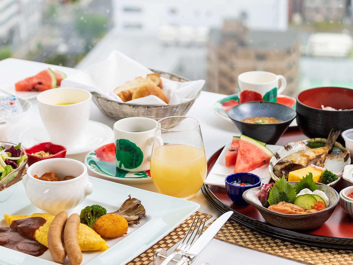 ロイヤルフロア宿泊プランでお申し込みのお客さまは、「洋定食」または「和定食」をお選びいただけます。