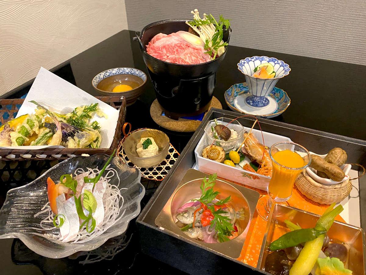 【ご夕食】秋の懐石膳