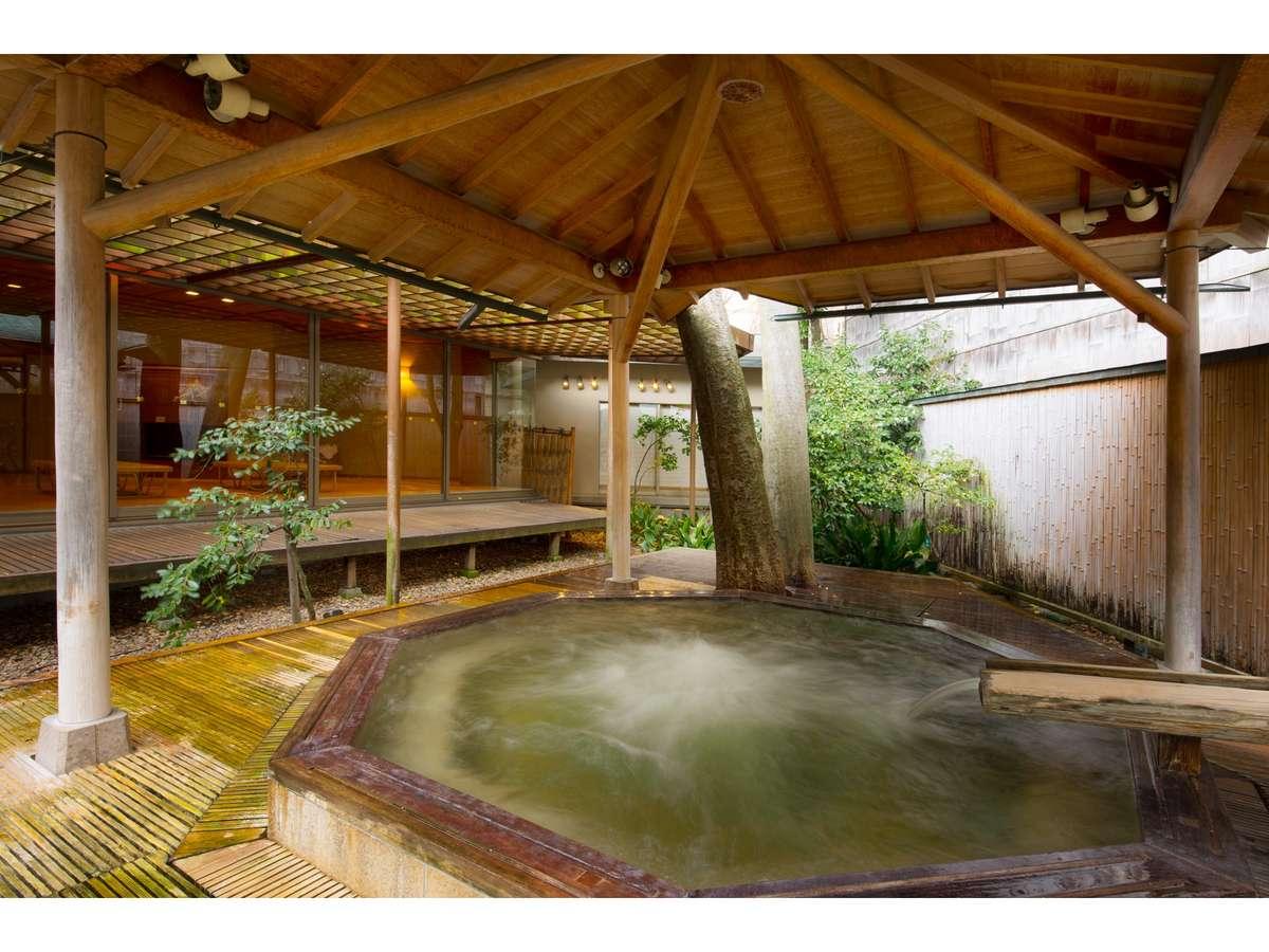 ■花水木瀧の湯■落ち着いた空間で、温泉をお楽しみください。