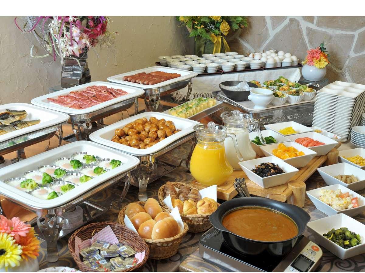 【朝食】和洋バイキング形式6:30~9:00